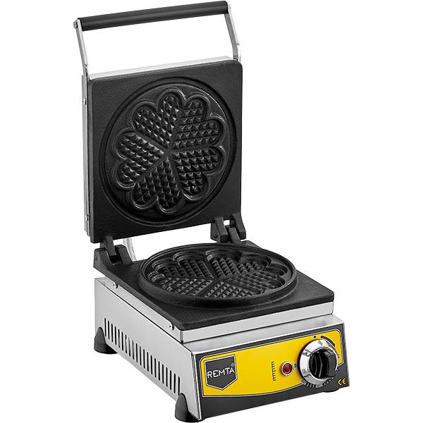 Remta - Çiçek Model Sanayi Tipi Çiftli Waffle Makinesi